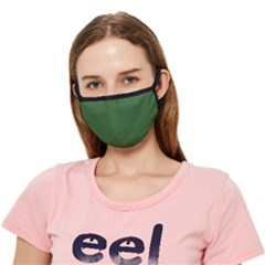 Basil Green - Crease Cloth Face Mask (adult) by FashionLane