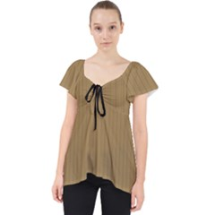 Bronze Mist - Lace Front Dolly Top by FashionLane