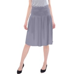 Coin Grey - Midi Beach Skirt