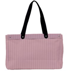 Baby Pink - Canvas Work Bag by FashionLane