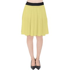Harvest Gold - Velvet High Waist Skirt