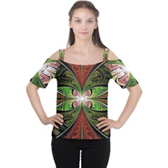 Fractal Design Cutout Shoulder Tee