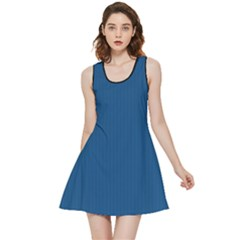 Classic Blue - Inside Out Reversible Sleeveless Dress