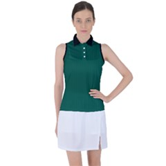 Christmas Green - Women s Sleeveless Polo Tee