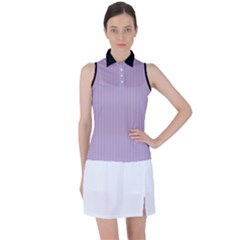 Wisteria Purple - Women s Sleeveless Polo Tee