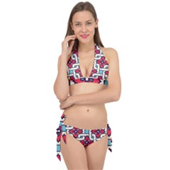 Diwali Pattern Tie It Up Bikini Set