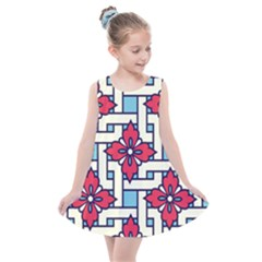 Diwali Pattern Kids  Summer Dress