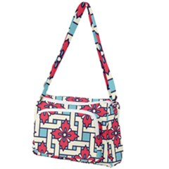 Diwali Pattern Front Pocket Crossbody Bag