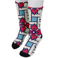Diwali Pattern Men s Crew Socks