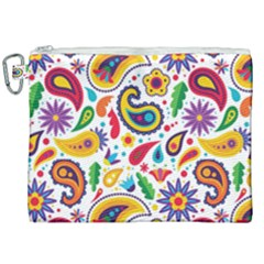 Baatik Print Canvas Cosmetic Bag (xxl)