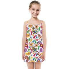 Baatik Print Kids  Summer Sun Dress by designsbymallika