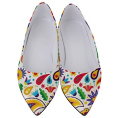 Baatik Print Women s Low Heels