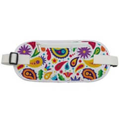 Baatik Print Rounded Waist Pouch