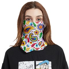 Baatik Print Face Covering Bandana (two Sides)