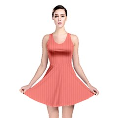 Living Coral - Reversible Skater Dress