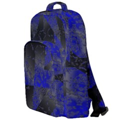 Broken Pavement  Double Compartment Backpack