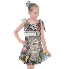 Songs Of The Earth - By Larenard Kids  Tie Up Tunic Dress
