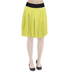 Unmellow Yellow - Pleated Skirt