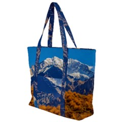 Aconcagua Park Landscape, Mendoza, Argentina Zip Up Canvas Bag
