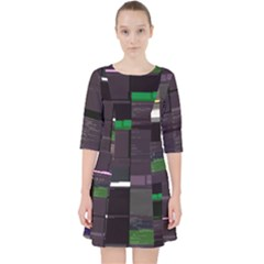Jarcane Heresy s Things-rkt Glitch Code Dress With Pockets by HoldensGlitchCode