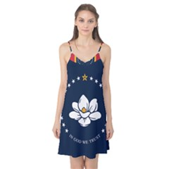 Flag Of Mississippi Camis Nightgown
