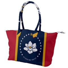 Flag Of Mississippi Canvas Shoulder Bag