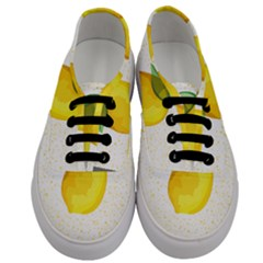 Illustration Sgraphic Lime Orange Men s Classic Low Top Sneakers