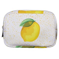Illustration Sgraphic Lime Orange Make Up Pouch (small)