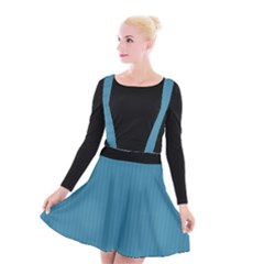 Blue Moon - Suspender Skater Skirt