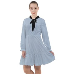Beau Blue - All Frills Chiffon Dress
