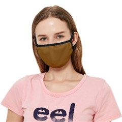 Just Brown - Crease Cloth Face Mask (adult) by FashionLane