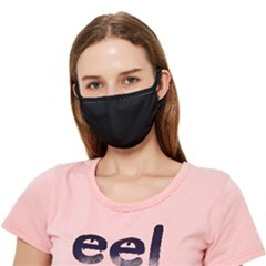 Just Black - Crease Cloth Face Mask (adult) by FashionLane