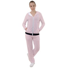 Pale Pink - Women s Tracksuit by FashionLane