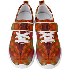 Landscape In A Colorful Structural Habitat Ornate Men s Velcro Strap Shoes by pepitasart