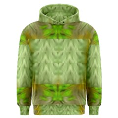 Landscape In A Green Structural Habitat Ornate Men s Overhead Hoodie