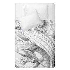 Dragon Lizard Vector Monster Duvet Cover Double Side (single Size)