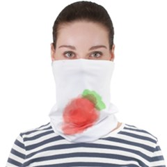 Strawbery Fruit Watercolor Painted Face Seamless Bandana (adult) by Mariart