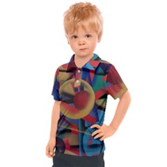 Kaleidoscope 2 Kids  Polo Tee