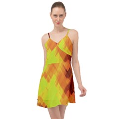 Geo Abstract 1 Summer Time Chiffon Dress