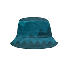 Flat Ocean Palette Bucket Hat (kids) by goljakoff