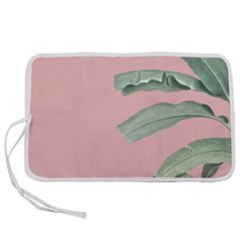 Palm Leaf On Pink Pen Storage Case (s) by goljakoff