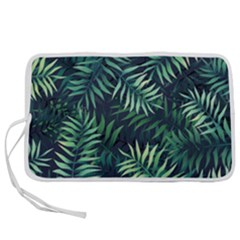Green Leaves Pen Storage Case (m) by goljakoff