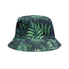 Green Leaves Inside Out Bucket Hat by goljakoff