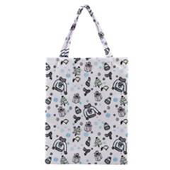 Winter Story Patern Classic Tote Bag