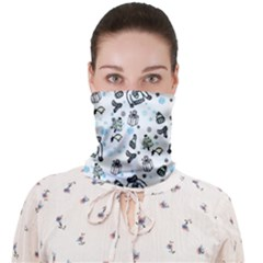 Winter Story Patern Face Covering Bandana (adult)