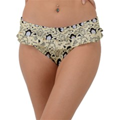 Cute Penguin Love Frill Bikini Bottom