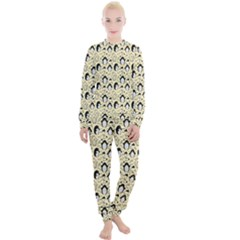 Cute Penguin Love Women s Lounge Set