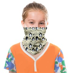 Cute Penguin Love Face Covering Bandana (kids)