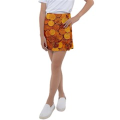Gold Coins 2 Kids  Tennis Skirt
