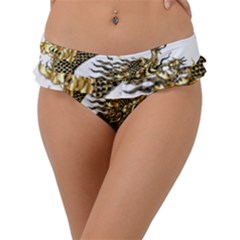 Dragon Animals Monster Frill Bikini Bottom